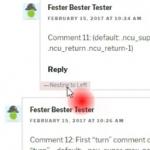 Nested Comments Unbound