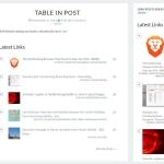 Link-Posts Aggregator