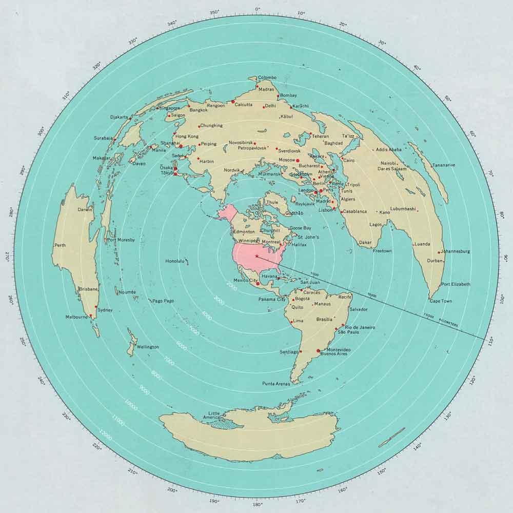World Around the US - detail