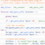 Linkback Your Xpost: A Simple WordPress Filter Function