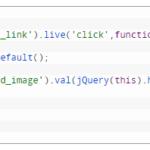 jQuery-Filling an Input Box in WordPress Admin